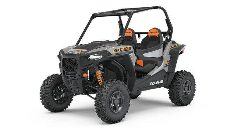 RZR S 900 EPS Ghost Gray