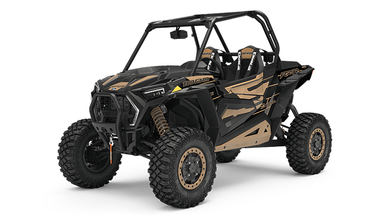 RZR XP 1000 Trails & Rock Cruiser Black