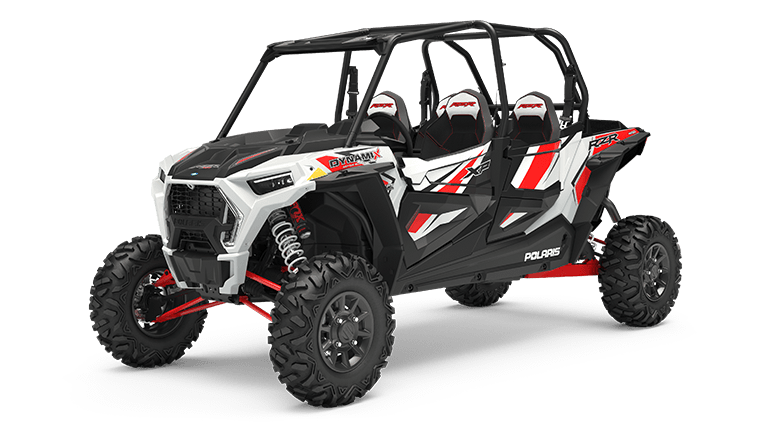 RZR XP 4 1000 DYNAMIX White Lightning