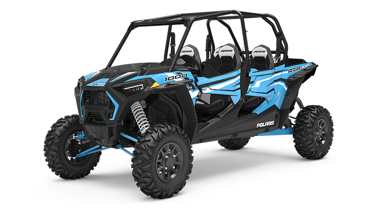 RZR XP 4 1000 EPS Sky Blue