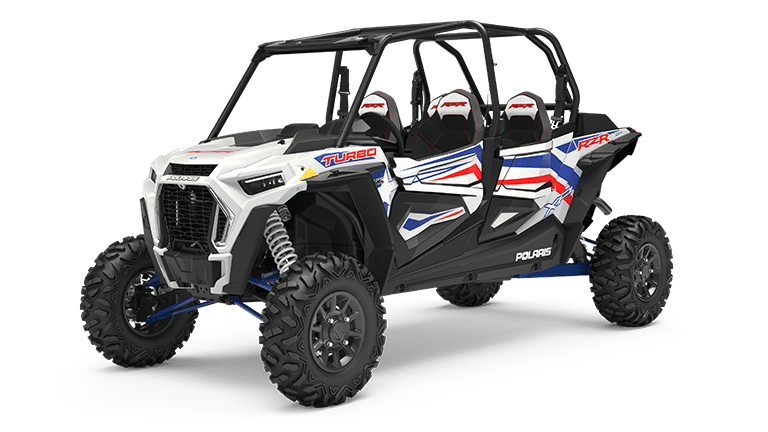 RZR XP 4 Turbo LE White Lightning