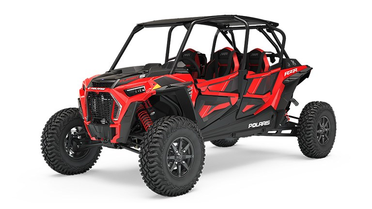 RZR XP 4 Turbo S Indy Red