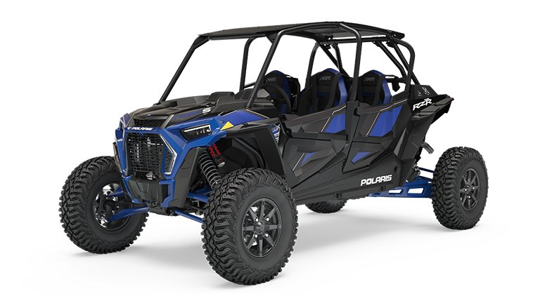 RZR XP 4 Turbo S Polaris Blue