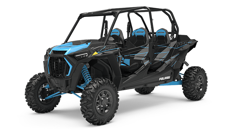 RZR XP 4 Turbo EPS Titanium Metallic