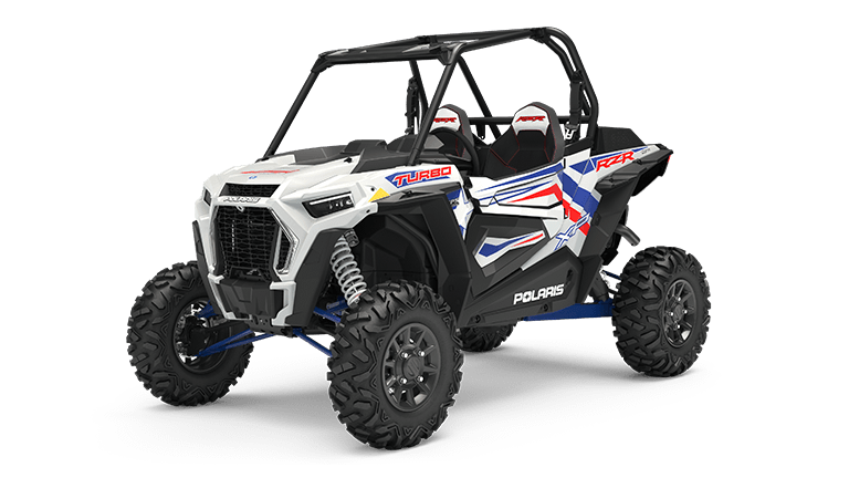 RZR XP Turbo LE White Lightning