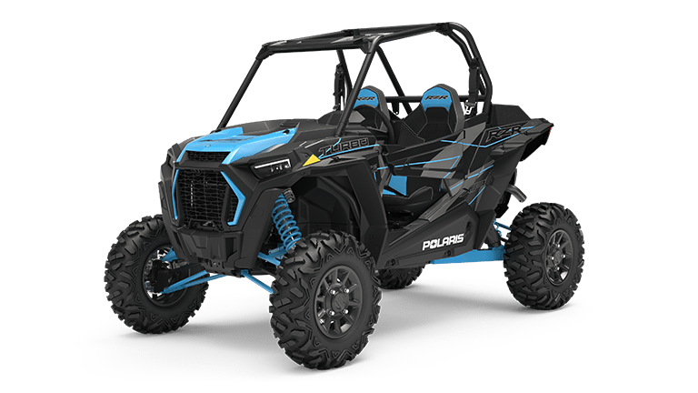 RZR XP Turbo Titanium Metallic