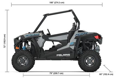 Rzr 1000 Dimensions >> Specs 2020 Polaris Rzr S 1000 Turbo Silver Sxs Polaris