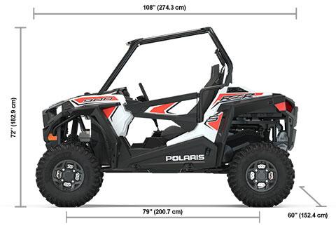 Specs: 2020 Polaris RZR S 900 - White SxS | Polaris