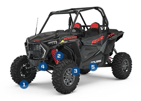 14 Polaris RZR 1000 XP Right Side Upper Door Frame ATV, Side-by-Side & UTV Parts & Accessories ATV, Side-by-Side & UTV Body & Frame