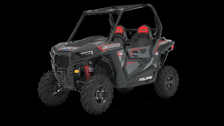 RZR 900 FOX Edition Stealth Gray