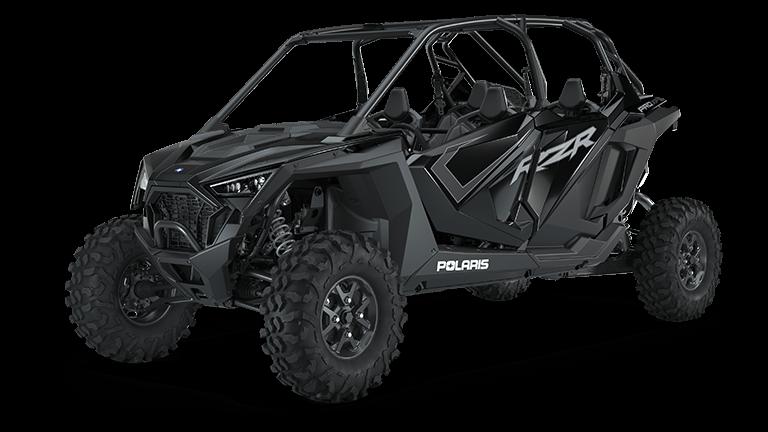 Pro Armor Asylum Rear Bumper Skid Plate Black Polaris XP1000 XP4 1000 Cage
