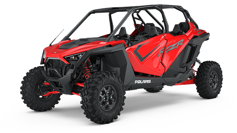 RZR PRO XP 4 Ultimate Indy Red