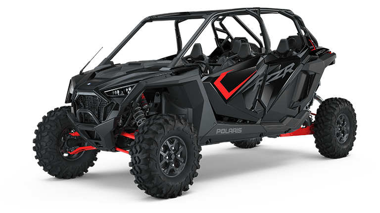 RZR PRO XP 4 Ultimate Cruiser Black
