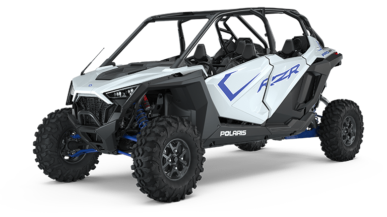 RZR PRO XP 4 Ultimate White Lightning
