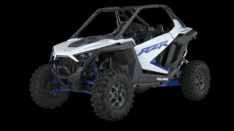 RZR PRO XP Premium White Lightning