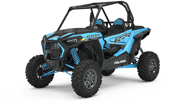 19 Sky Blue Turbo Front Bumper 2019 Polaris RZR 1000