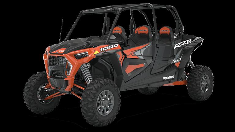 RZR XP 4 1000 Premium Orange Rust