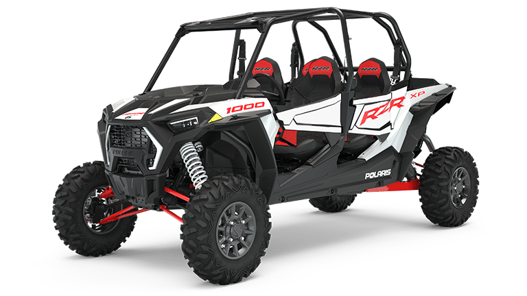 RZR XP 4 1000 EPS White Lightning