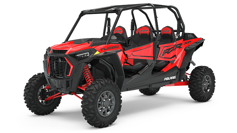 RZR XP 4 Turbo EPS Indy Red