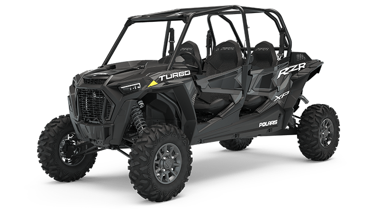 RZR XP 4 Turbo EPS Stealth Black