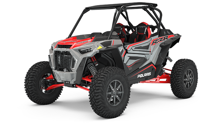 RZR XP Turbo S Ghost Gray