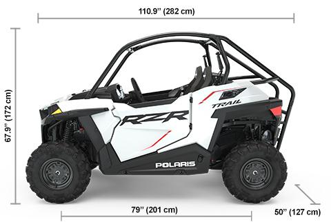 RZR Trail Sport White Lightning Specifications