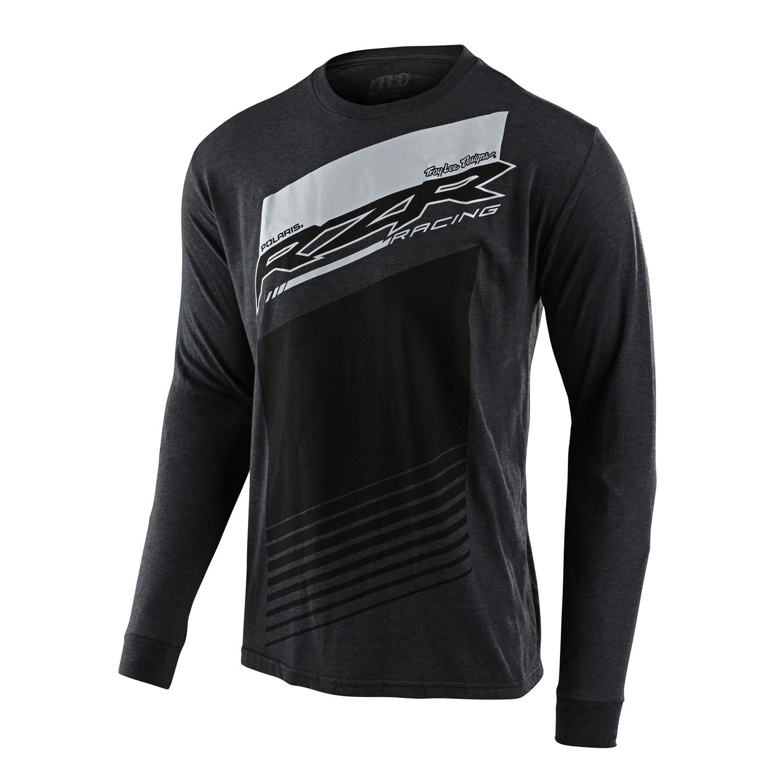 2868762 BRAND NEW Polaris RZR Men/'s Edge Tee T-Shirt Gray Cotton Sizes M-3XL