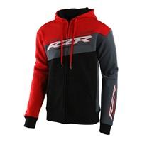 Troy Lee Designs RZR Full Zip Hoodie, Black/Red