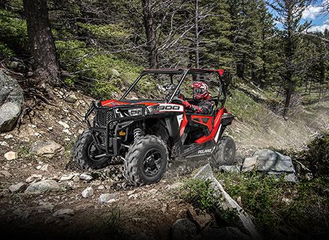 Red /& Black Polaris Adventure Shock Covers Youth RZR 170 Ranger ACE 150 Set 4