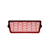 Painted Front Grille - Red Pearl - Image 2 de 5