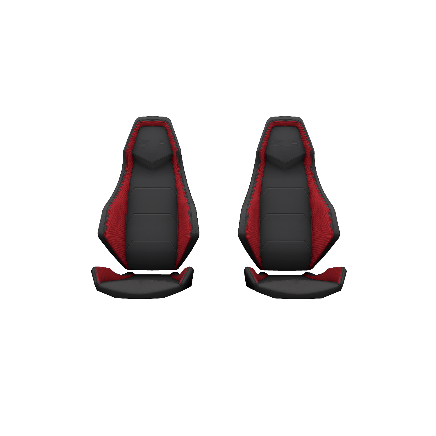 Velocity Street Sport Seats - Sunset Red - Pair