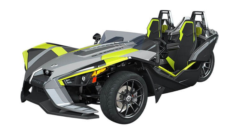 Slingshot SLR LE Ghost Gray and Lime Squeeze