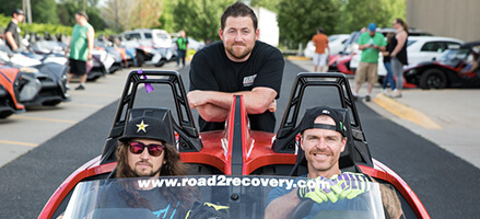 Slingshot Stories - Owners ride to benefit action Image