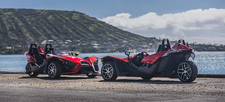 Slingshot<sup>®</sup> arrives in the Aloha state; announces retail availability at Montgomery PowerSports Hawaii