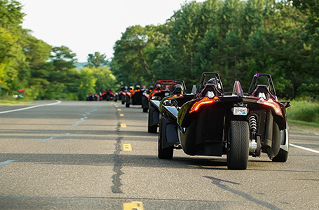 "POLARIS<sup>®</sup> SLINGSHOT<sup>®</sup> INTRODUCES  ""CLUB SLINGSHOT"" OWNERS GROUP"