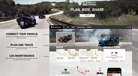 Ride Command - Touch Screen Display System | Polaris Slingshot