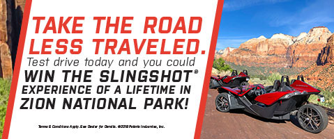 Image link to the Slingshot Adventure Giveaway page