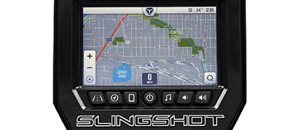"SLINGSHOT RIDE COMMAND 7"" MULTI-TOUCH DISPLAY SYSTEM"