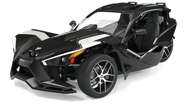 Slingshot Grand Touring Black Crystal with White Pearl