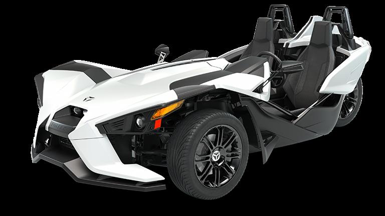 2019 polaris slingshot s 3 wheel motorcycle polaris slingshotslingshot s white lightning with gloss black wheels