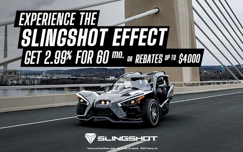 Slingshot special offers