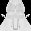 Center Hood Decal Kit - White Lightning by Slingshot®