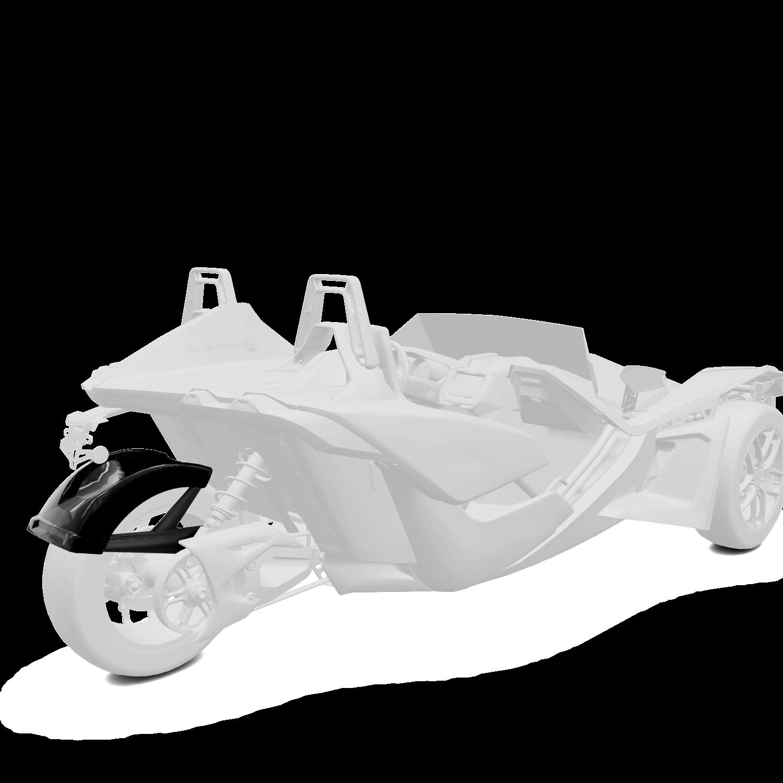 305MM Rear Fender - Gloss Black