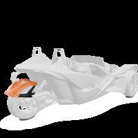 305MM Rear Fender - Afterburner Orange