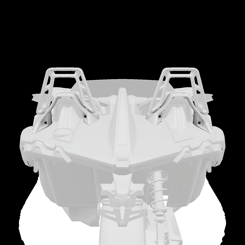 Painted Lower Hoop Accent Kit - White Lightning