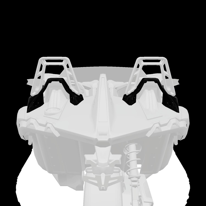 Painted Lower Hoop Accent Kit - Black Pearl