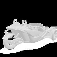 265MM Rear Fender - White Lightning