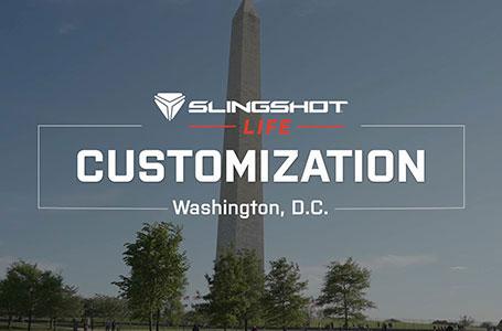 La vie Slingshot: Personnalisation | Slingshot