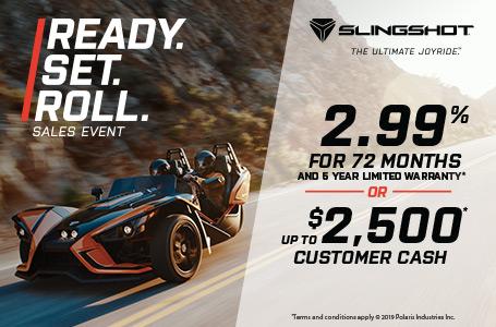 Slingshot - Special Offers Image