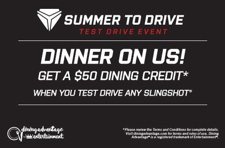 Slingshot Summer To Drive